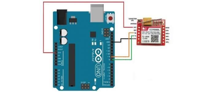 SIM800L con Arduino UNO - Transmitir SMS
