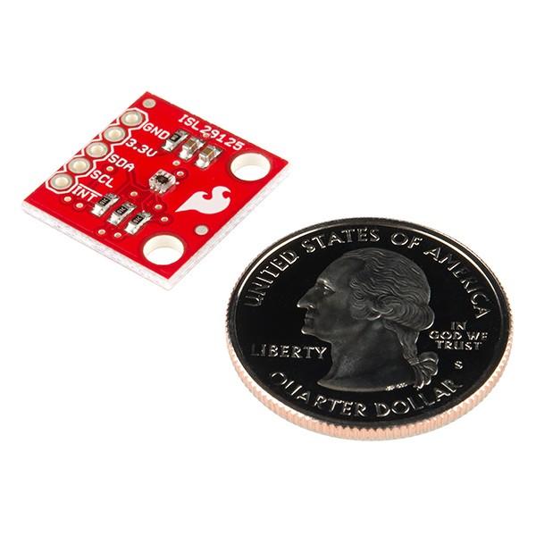 Sensor De Luz Rgb – Isl29125 Sparkfun Id:12829